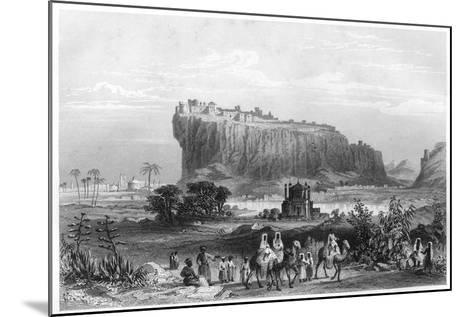 The Hill Fortress of Gwalior, India, C1860--Mounted Giclee Print