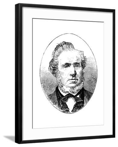 Brigham Young, American Mormon Leader--Framed Art Print