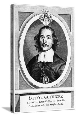 Otto Von Guericke, German Inventor, Engineer and Physicist, 1672--Stretched Canvas Print