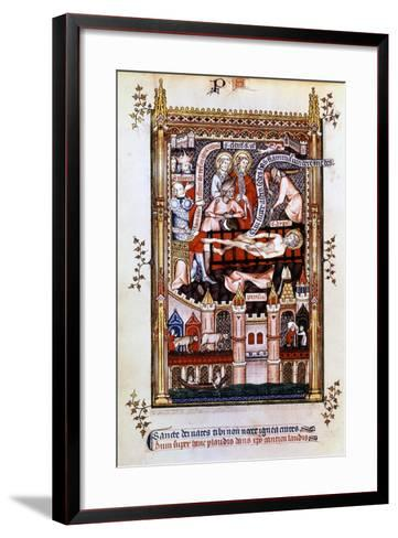 The Martyrdom of St Denis, 1317--Framed Art Print