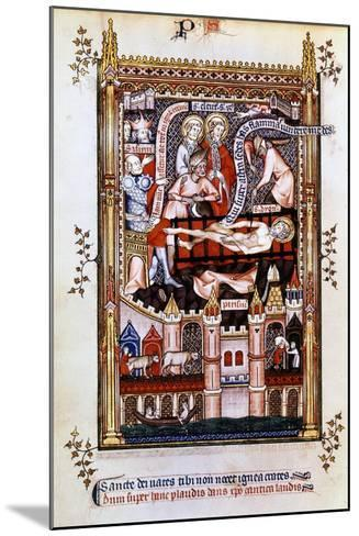 The Martyrdom of St Denis, 1317--Mounted Giclee Print