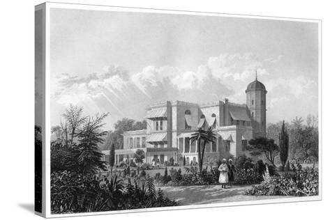 The Residency, Lucknow, India, C1860--Stretched Canvas Print
