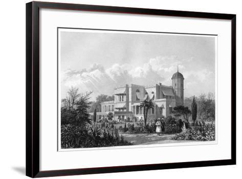 The Residency, Lucknow, India, C1860--Framed Art Print