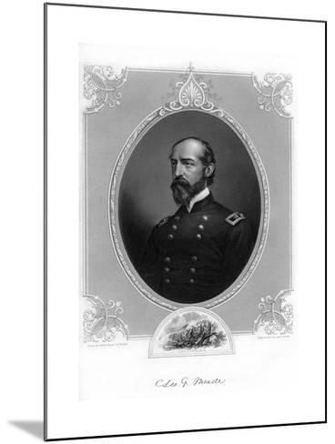 General George Meade, Us Army Officer and Civil Engineer, 1862-1867- Brady-Mounted Giclee Print