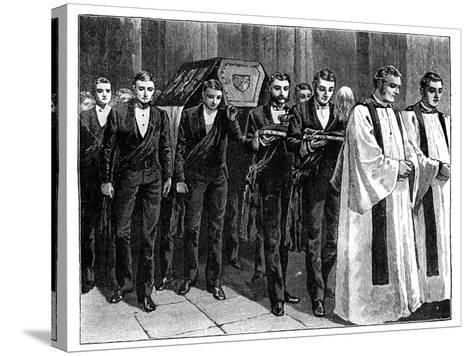 Prince Albert's Funeral, 1861--Stretched Canvas Print