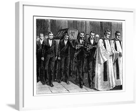 Prince Albert's Funeral, 1861--Framed Art Print