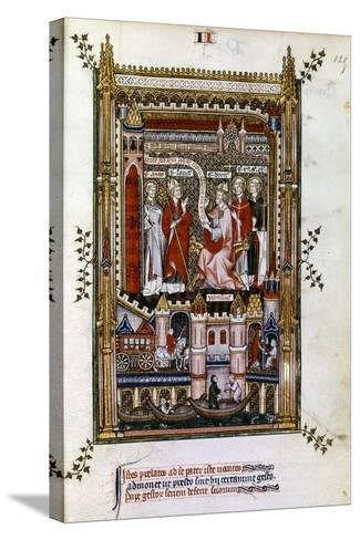 St Denis, 1317--Stretched Canvas Print