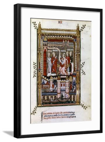 St Denis, 1317--Framed Art Print