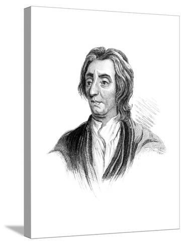 John Locke, English Philosopher--Stretched Canvas Print