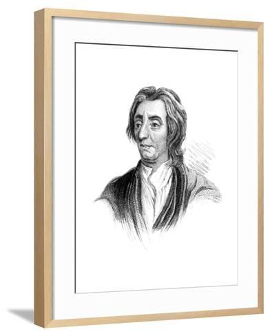 John Locke, English Philosopher--Framed Art Print