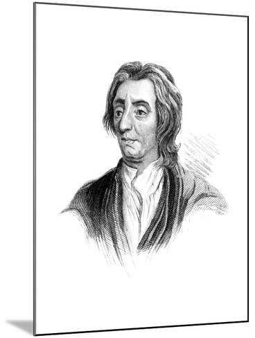 John Locke, English Philosopher--Mounted Giclee Print