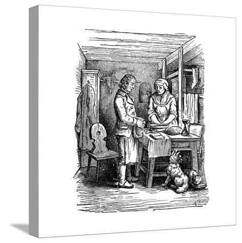 Richard Arkwright (1732-179), British Industrialist and Inventor, 1822--Stretched Canvas Print