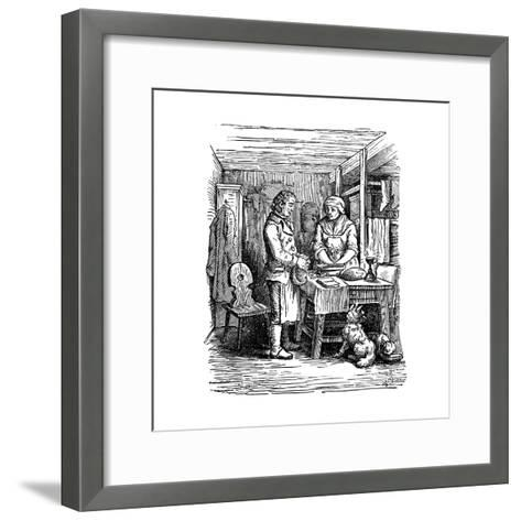Richard Arkwright (1732-179), British Industrialist and Inventor, 1822--Framed Art Print