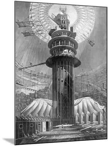 The Geometrical Ascent to the Galleries in the Colosseum, Regent's Park, London, 1823--Mounted Giclee Print