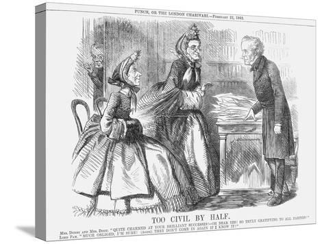 Too Civil by Half, 1862--Stretched Canvas Print