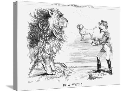 Bow-Wow!!, 1859--Stretched Canvas Print