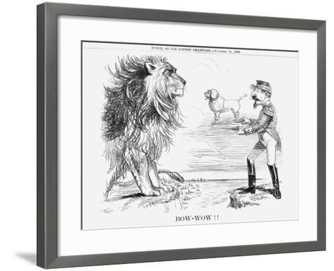 Bow-Wow!!, 1859--Framed Art Print