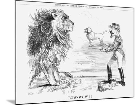 Bow-Wow!!, 1859--Mounted Giclee Print