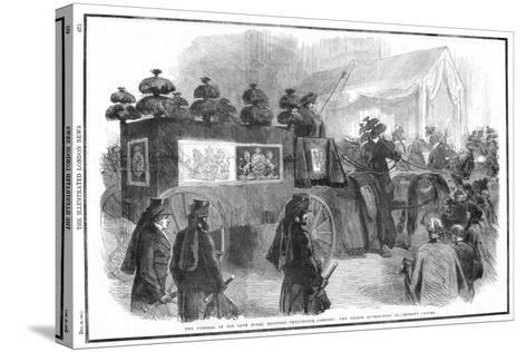 Funeral of Albert, Prince Consort, 1861--Stretched Canvas Print