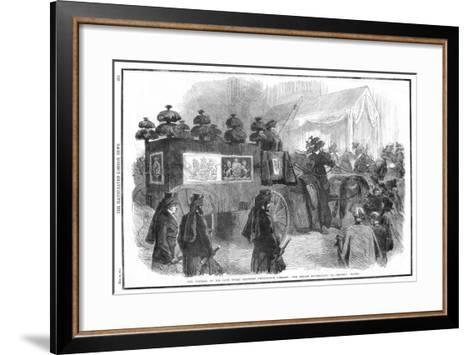 Funeral of Albert, Prince Consort, 1861--Framed Art Print