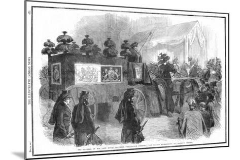 Funeral of Albert, Prince Consort, 1861--Mounted Giclee Print