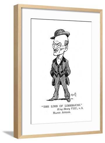 Clement Atlee (1883-196) British Labour Statesman, 1932--Framed Art Print