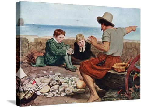 The Boyhood of Raleigh, 1908-1909-John Everett Millais-Stretched Canvas Print