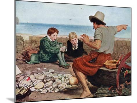 The Boyhood of Raleigh, 1908-1909-John Everett Millais-Mounted Giclee Print