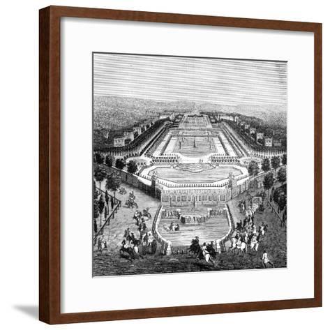Chateau De Marly, France, 1722 (1882-188)--Framed Art Print