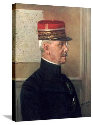 Michel-Joseph Maunoury, French First World War General--Stretched Canvas Print