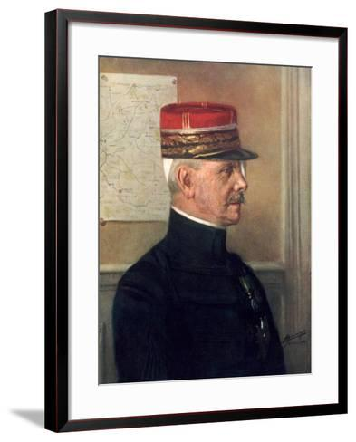 Michel-Joseph Maunoury, French First World War General--Framed Art Print