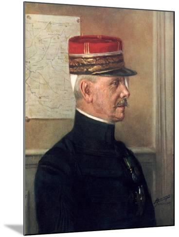 Michel-Joseph Maunoury, French First World War General--Mounted Giclee Print