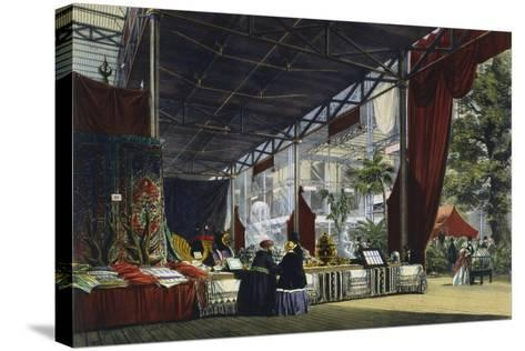 Great Exhibition, Hyde Park, London, 1851--Stretched Canvas Print