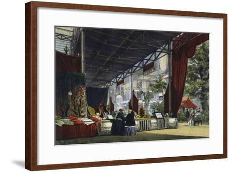 Great Exhibition, Hyde Park, London, 1851--Framed Art Print