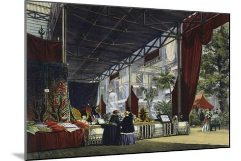 Great Exhibition, Hyde Park, London, 1851--Mounted Giclee Print
