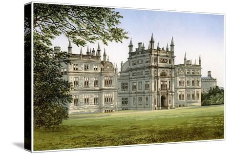 Corsham Court, Wiltshire, Home of Lord Methuen, C1880-Benjamin Fawcett-Stretched Canvas Print