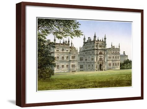 Corsham Court, Wiltshire, Home of Lord Methuen, C1880-Benjamin Fawcett-Framed Art Print