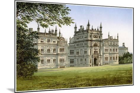 Corsham Court, Wiltshire, Home of Lord Methuen, C1880-Benjamin Fawcett-Mounted Giclee Print