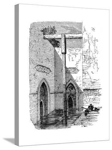 Nilometer on the Island of Roda, Cairo, Egypt, C1895--Stretched Canvas Print