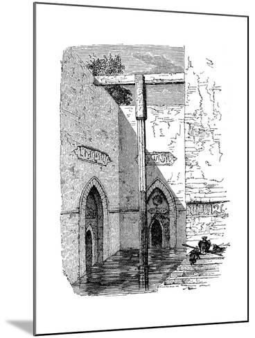 Nilometer on the Island of Roda, Cairo, Egypt, C1895--Mounted Giclee Print