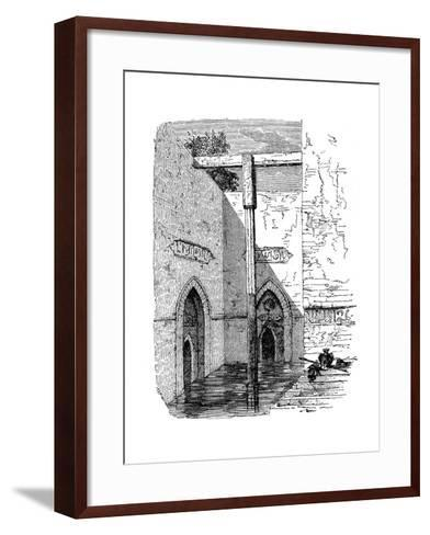 Nilometer on the Island of Roda, Cairo, Egypt, C1895--Framed Art Print