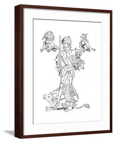 Warwick the Kingmaker, 15th Century English Nobleman and Soldier--Framed Art Print