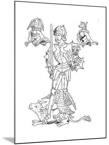 Warwick the Kingmaker, 15th Century English Nobleman and Soldier--Mounted Giclee Print