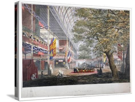 View of the Closing Ceremony of the Great Exhibition of 1851, London, 1851--Stretched Canvas Print