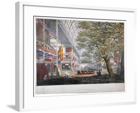 View of the Closing Ceremony of the Great Exhibition of 1851, London, 1851--Framed Art Print