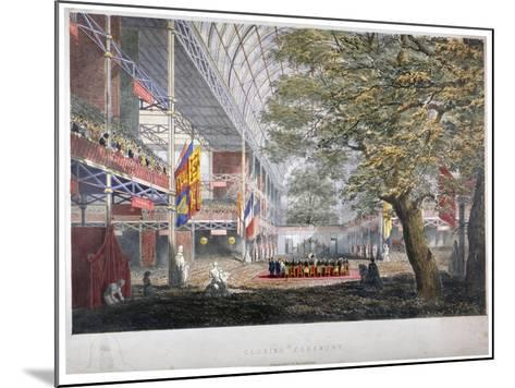 View of the Closing Ceremony of the Great Exhibition of 1851, London, 1851--Mounted Giclee Print