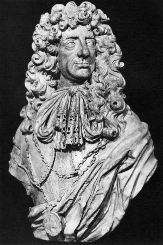 Charles II, King of England, Scotland and Ireland, C1678-John Bushnell-Stretched Canvas Print