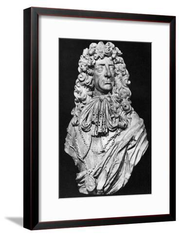 Charles II, King of England, Scotland and Ireland, C1678-John Bushnell-Framed Art Print