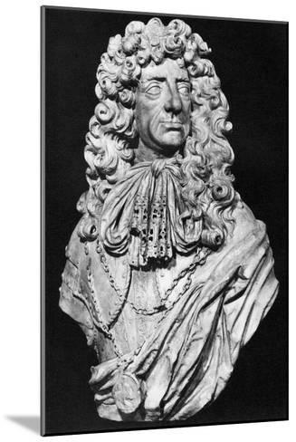 Charles II, King of England, Scotland and Ireland, C1678-John Bushnell-Mounted Giclee Print