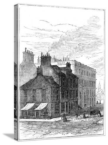 Birthplace of James Watt Shortly before it Was Demolished, 1887--Stretched Canvas Print